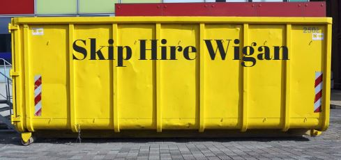 Skip Hire Wigan Services at A1 Skip Hire